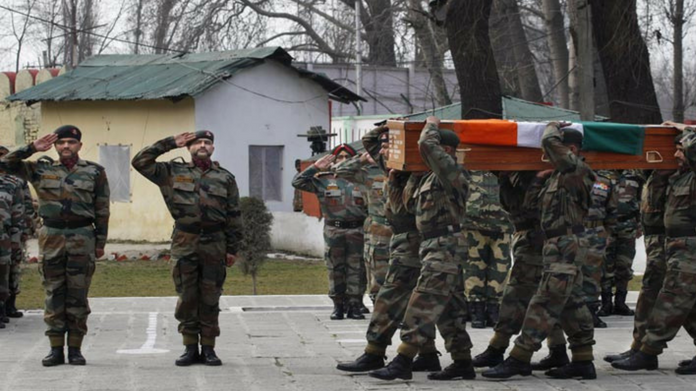 army officer killed