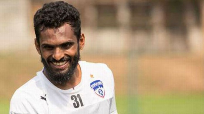 c k vineeth cAsian cup Indian camp ck vineeth not included