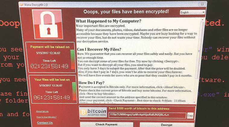 protect personal computer, wannacry, ransomware virus