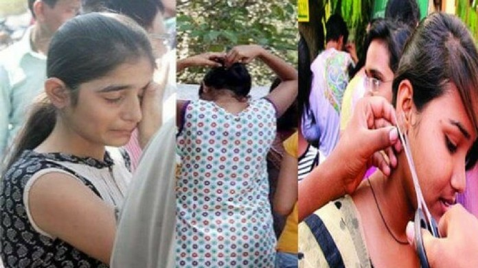 female candidate, remove innerwear, neet exam, kannur