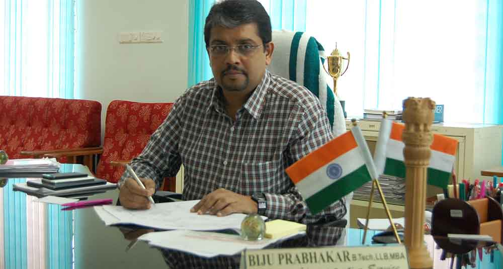 ias fight biju prabhakar