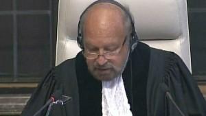 icj judge Ronny Abraham
