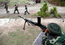 indian army 4 terrorists killed kashmir