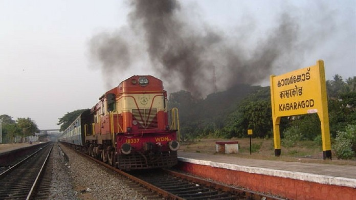 kannur kasargod special passenger train service stopped