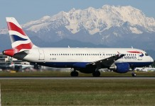 british airways airplanes stopped