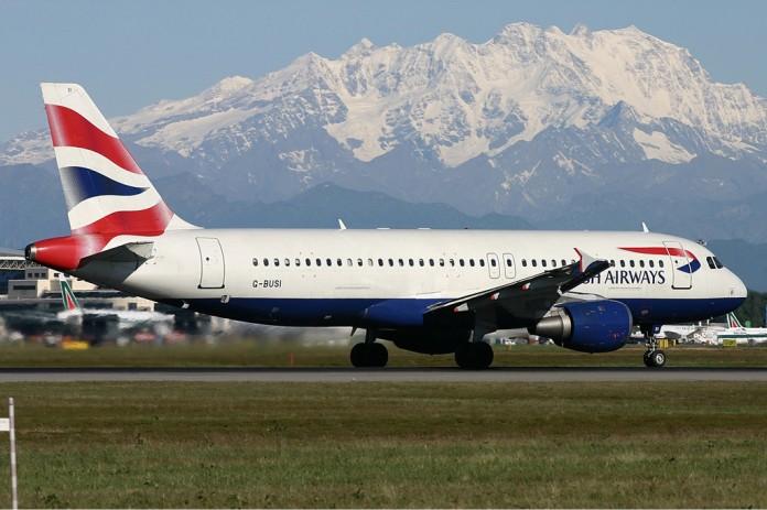 british airways airplanes stopped