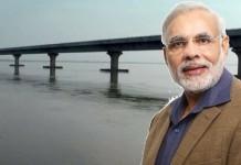 modi - dola sadhiya bridge