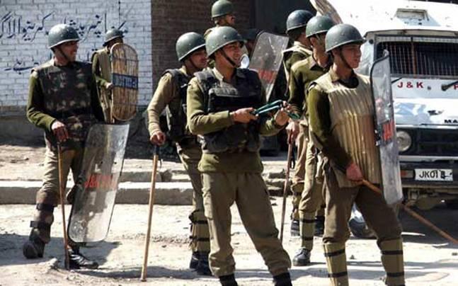 terrorist attack shopian police post