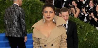 Priyanka Chopra world's largest trench coat