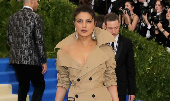 Priyanka Chopra world's largest trench coat