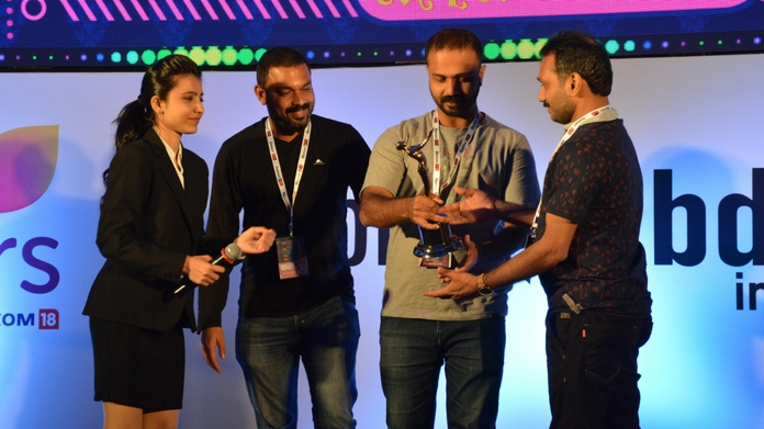 Flowers bags Promax bda awards the second time