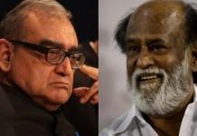 rajinikanth has nothing in his head says katju