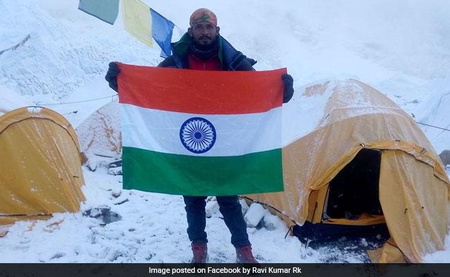 indian everest climber ravi kumar missing