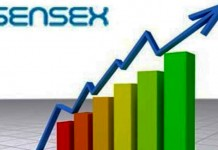 stock market sensex 218 gain sensex 124 point gain