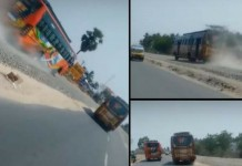 tamil nadu bus race video viral