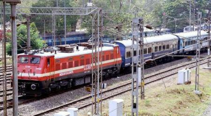 underpass construction three passenger trains suspended temporarily