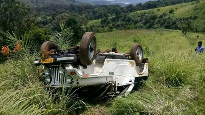 vagamon jeep fell abyss