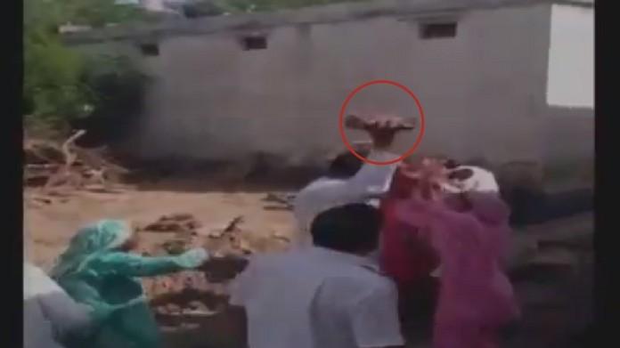 village head attacks women video