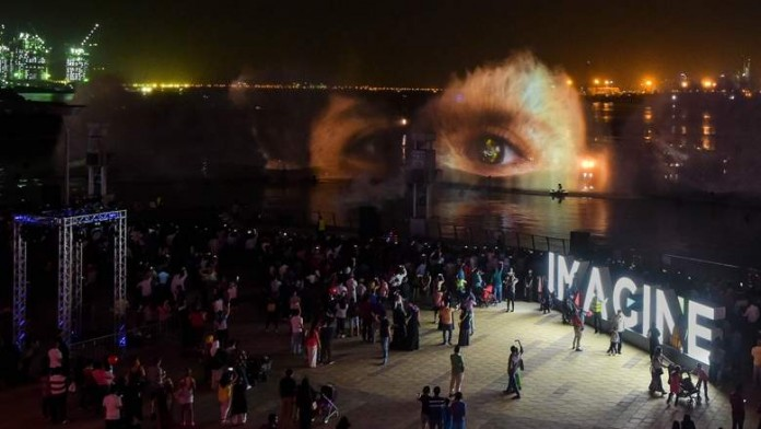 worlds largest projection mapping