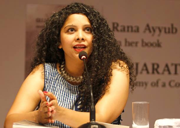 bjp complaint against journalist rana ayyub