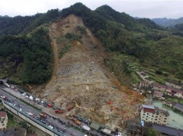 china landslide 100 persons missing