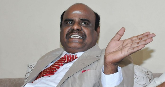 Justice Karnan retires today justice karnan moves from chennai to kolkatta justice karnan hospitalized