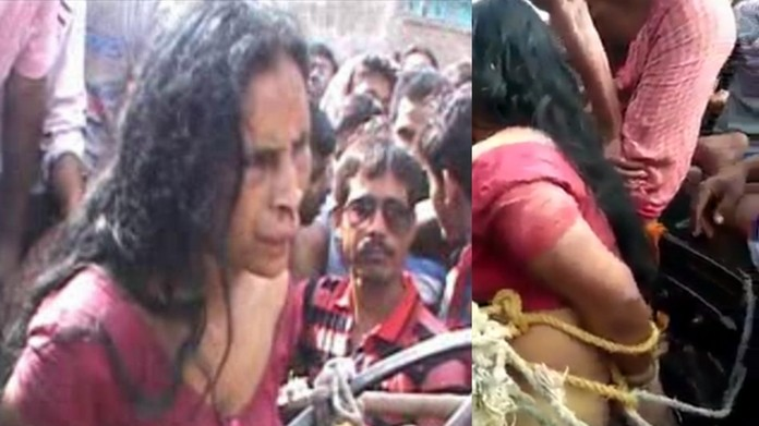 Mob lynches mentally ill woman