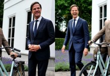 netherlands prime minister gifted modi with bicycle