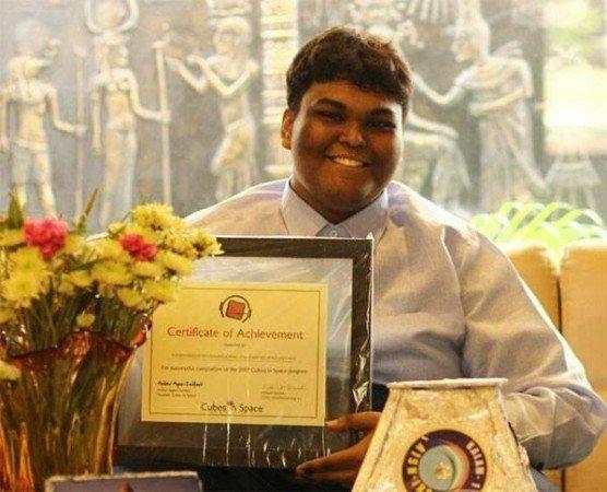 indian boy develops worlds smallest satellite