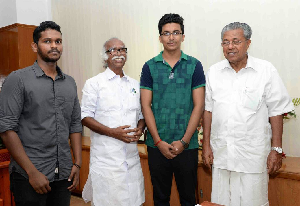 cm with winners of civil service