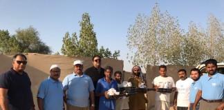 malayalees distributes iftar food kit for poor dubai
