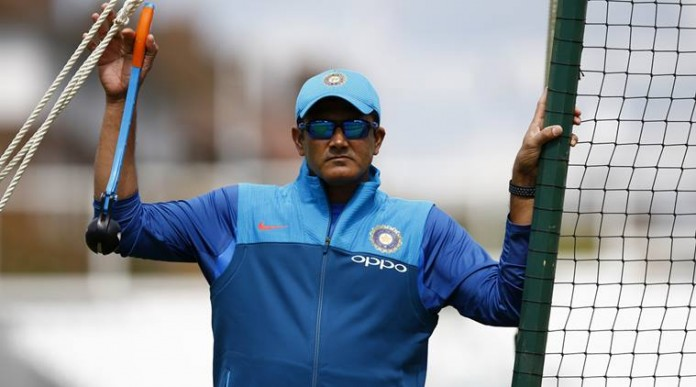 kumble continues to be coach anil kumble resigned