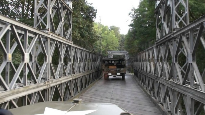 bailey bridge transportation dismissed temporarily