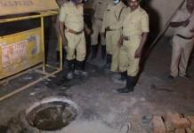 bengaluru man dead manhole