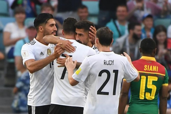 confederation cup Mexico defeated by Germany