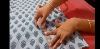 how to stitch churidar