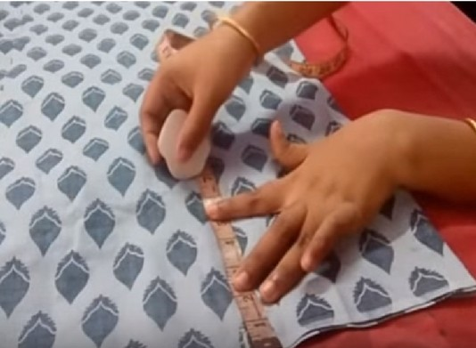 how to stitch churidar