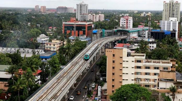 kochi metro metro extends to 313 km