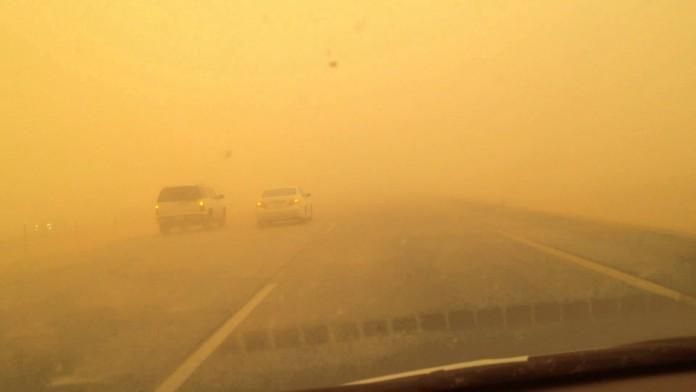 sand storm damam
