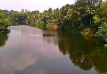 meenachil river overflow one dead