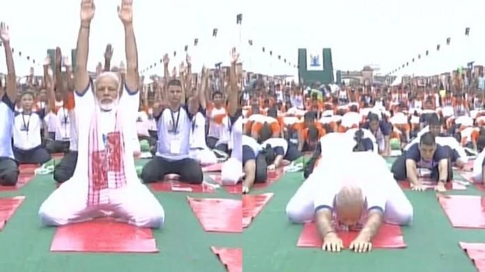 modi international yoga day