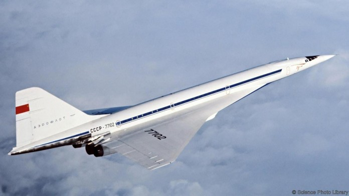 super sonic airplane introduces between newyork and london