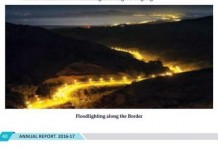home affairs ministry annual report gives spain morocco border picture instead of india pak border picture