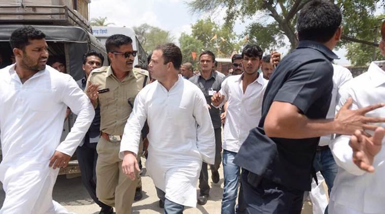 rahul gandhi police custody rahul gandhi set free