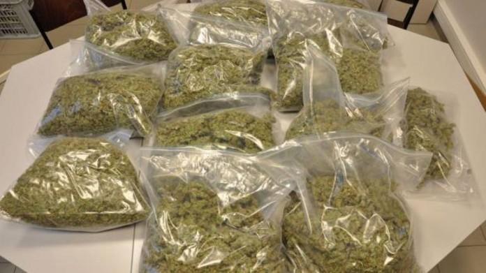 eight and half kilogram cannabis seized