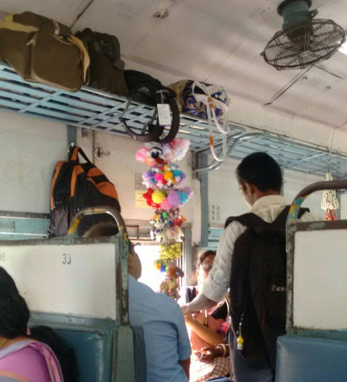 business in train