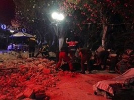 greece earthquake 2 killed