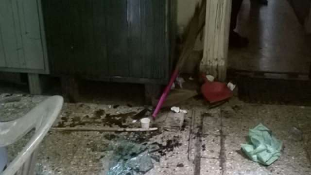cpm office pandalam destroyed