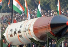 india missile aims china says america