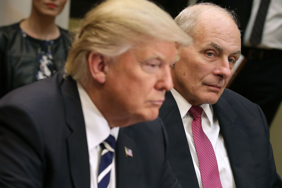 John Kelly trump's new chief of staff trump travel ban on 3 countries